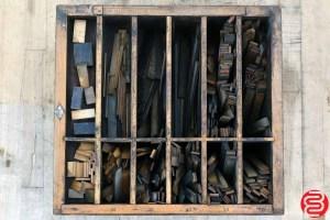 Hamilton Letterpress Furniture Cabinet - 051220103110