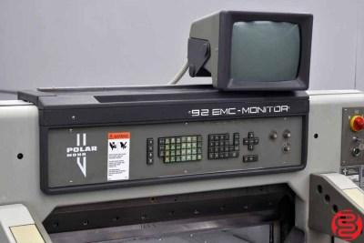 Polar 92 EMC Programmable Paper Cutter - 042920025150