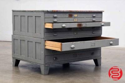 Flat Filing Cabinet - 8 Drawers - 060420113510