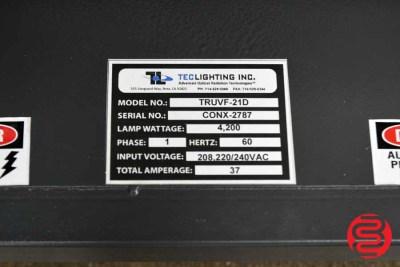 "Tec Lighting TruCoat 21"" Hand-Fed UV Coater - 061620093320"