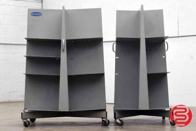 Challenge Quadracart Paper / Bindery Cart - Qty 2 - 061820021340