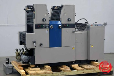Ryobi 512 Two Color Offset Printing Press - 052120012320