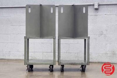 Quadracart Paper / Bindery Cart - Qty 2 - 062220020500
