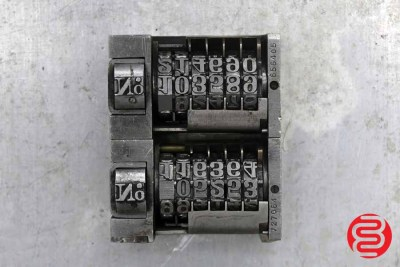 Numbering Machines - Qty 2 - 062220024420