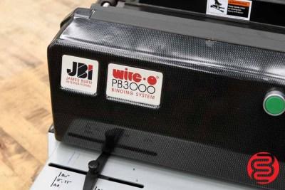 JBI PB3000 Wire Binding Machine - 062320104010