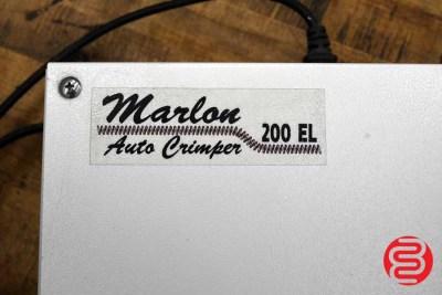 Marlon 200EL Single Head Auto Spiral Coil Crimper - 06302008810