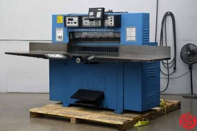 "Challenge 420 TCM Programmable Hydraulic 42"" Paper Cutter w/ MicroCut - 071520033730"
