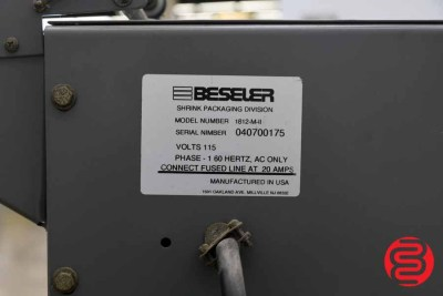 Beseler 1812 Semi-Automatic Shrink Wrap System w/ Magnetic Hold Down - 072220104040