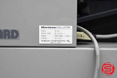 Standard Horizon MC-80 24 Bin Booklet Making System w/ Stitch, Fold, and Trim - 072520084830