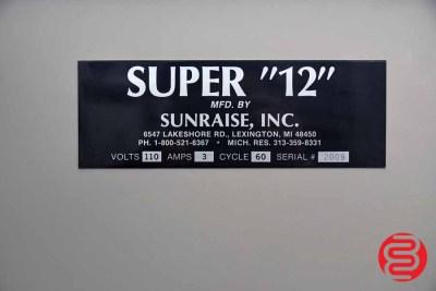 Sunraise Super 12 BC Business Card Slitter - 092220084410