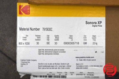 2004 Kodak / Creo Trendsetter 800 II Computer to Plate System - 092220041100