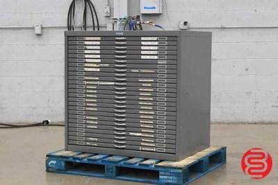 Flat Filing Cabinet - 092420014250