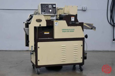 Therm-O-Type SF-2000 Foil Stamping Press - 101420114310