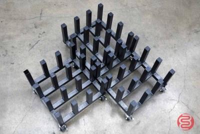 Vertical Paper Roll Cart - Qty 3 - 101420021820