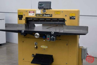 Challenge 305MC 30.5in Paper Cutter w/ MicroCut Jr. Programmable Controller - 111820020240