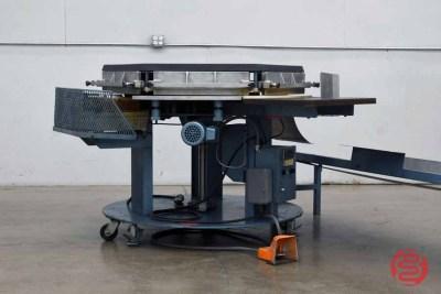 Brackett High-Speed Automated Circular Padder w/ Conveyor - 110520025740