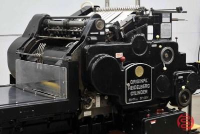 Heidelberg SBG 22in x 30 1/4in Cylinder Die Cutter - 111020020650