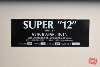 Sunraise Super 12 BC Business Card Slitter - 111620090130