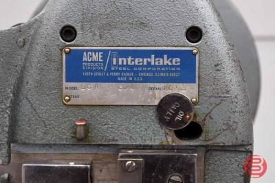 Acme Interlake Model A Flat Book / Saddle Stitcher - 120220091410