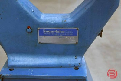 Acme Interlake Model A Flat Book / Saddle Stitcher - 120720015010