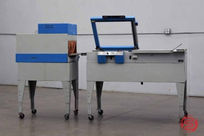 Autovend Packaging Systems Shrink Wrapping System L-Bar Heat Sealer w/ APS Heat Tunnel - 122820082240