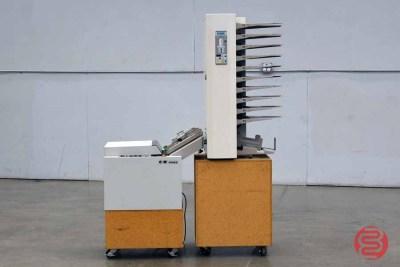 Baum Plockmatic Booklet Making System w/ 310 Maxxum 10 Bin Collator - 122820111120