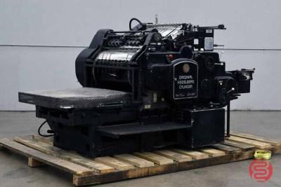 Heidelberg KS 54 x 72 Cylinder Die Cutter - 121420013420