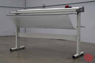 "Neolt Trim 130 Manual 51"" Rotary Paper Cutter w/ Stand - 120820075610"