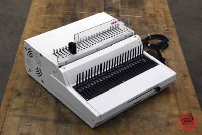 Renz Combi E Typ 34 Electric Plastic Comb Binding Machine - 122220095450