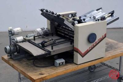 Challenge Pow-R-Fold Vacuum Feed 14 x 20 Paper Folder - 010621012240