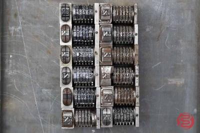 Numbering Machine (Qty -12) - 012821072040