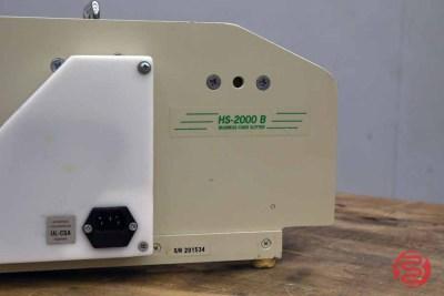 RB Sun HS-2000-A-B Electric Business Card Cutter - 011921104630