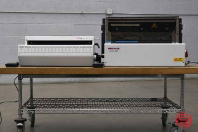 Renz ECL 500 Electric Ring Wire Closer w/ Renz 500 ES Professional Heavy-Duty Punch - 011421115320