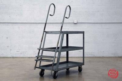 Rolling Step Ladder Cart - 012021094910