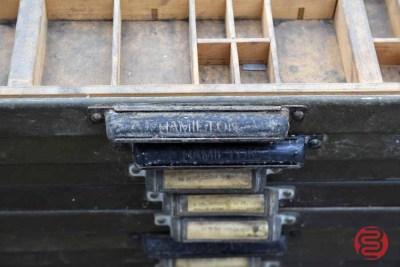 Hamilton California Type Cases (Qty - 24) - 020421023150