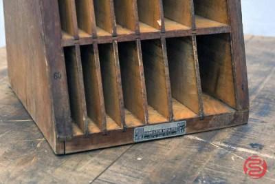 Hamilton Letterpress Furniture Cabinet - 021121085230
