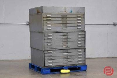 Letterpress Typekit Drawers Cabinet - 020821011210