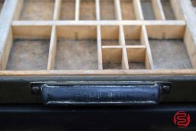 Letterpress Typekit Drawers Cabinet - 020821024830