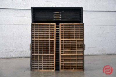 Letterpress Typekit Drawers Cabinet - 020821030440