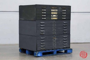 Letterpress Typekit Drawers Cabinet - 020821115440
