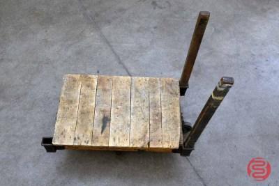 Vintage Nutting Warehouse Cart - 022321031050