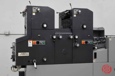 AB Dick Model 9995C Two-Tower Offset Printing Press - 031221095120