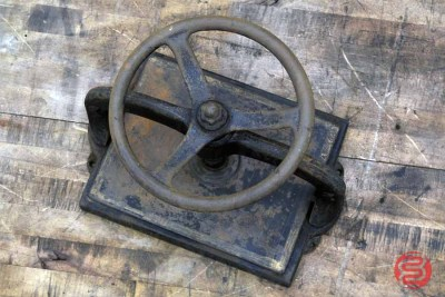 Antique Tabletop Book Press - 030921012510