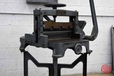 Challenge Machinery Paper Cutter - 030421090100
