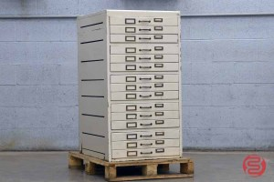 Letterpress Typekit Drawers Cabinet - 032521095520