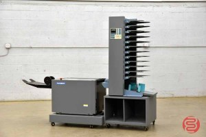 Duplo DBM-120 Booklet Making System w/ 12-Bin Collating Tower - 041221114020