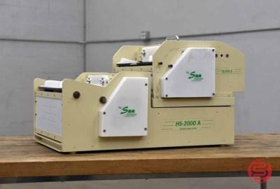 RB Sun HS-2000-A & B Electric Business Card Slitter - 040721023530