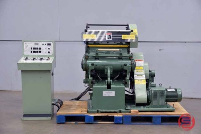 1992 Thomson Clamshell 19x25 Auto Feed Die Cutter and Foil Stamper - 051221015721