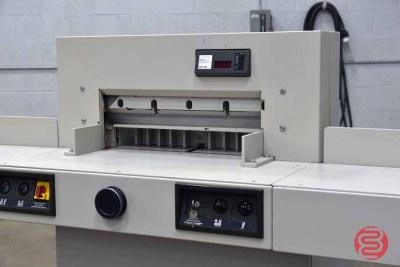1993 MBM Triumph Ideal 5221-90 EP Programmable Paper Cutter - 052021115012