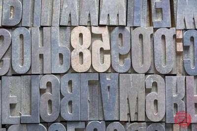 Assorted Letterpress Font Wood Type - 050721021233
